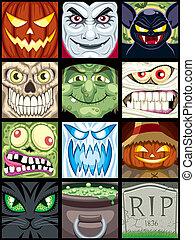 halloween, avatars