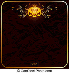 Halloween Backdrop - Halloween backdrop, empty card template