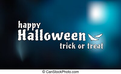 Halloween background blur