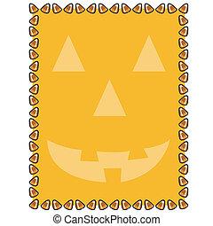 Halloween Background Border Frame