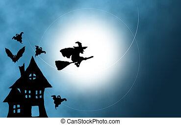 Halloween background  - Halloween background