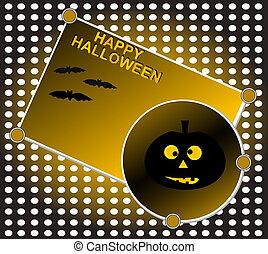 Halloween background pumpkin night