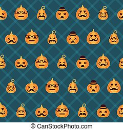 Halloween background. Seamless pattern.