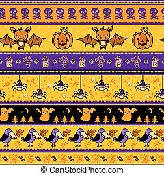 Halloween background with bat.