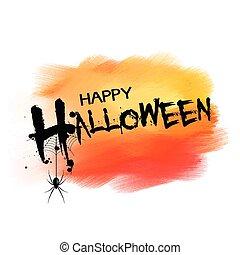 halloween background with spider 2209
