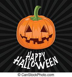 halloween, bakgrund, pumpa