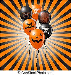 halloween balony