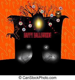 Halloween banner