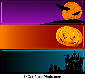 Halloween Banners - A collection of Halloween banners