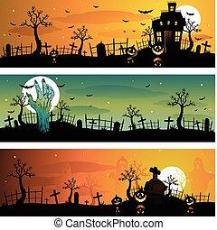 Halloween banners - halloween banners