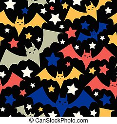 Halloween Bat Pattern