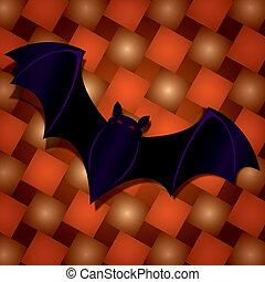 Halloween Bat - Illustration of a halloween bat.