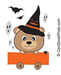 Halloween bear design