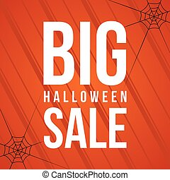 Halloween big sale background style