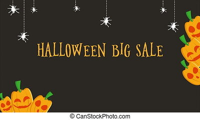 Halloween big sale limited time only of animation
