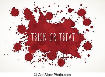Halloween Blood Splatter Background