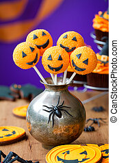 Halloween cake pops - Cake pops with a Halloween theme