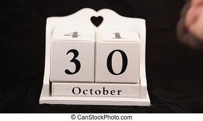 halloween calendar video 31st october