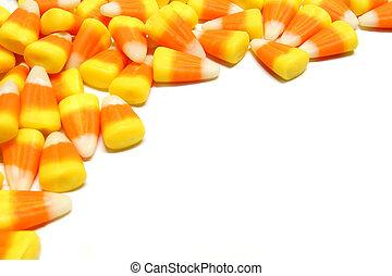 Halloween candy corn border