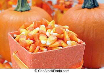 Halloween candy corn