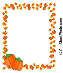 Halloween Candy Corn Frame - Image and illustration ...