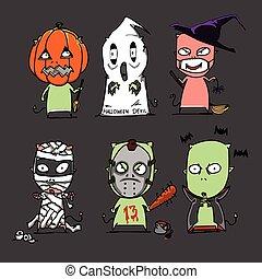 halloween, carattere