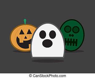 halloween, caratteri