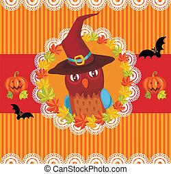 halloween, carte