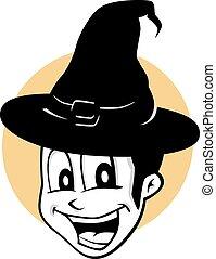 halloween cartoon character