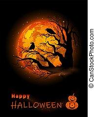 Halloween Celebration Background