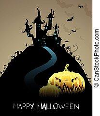 Halloween Celebration Card