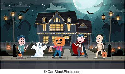 halloween, celebrowanie