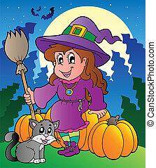 Halloween character scene 4