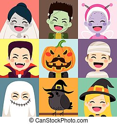 Halloween Children Avatar