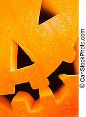 halloween, closeup, latarnia