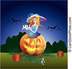 halloween, composition