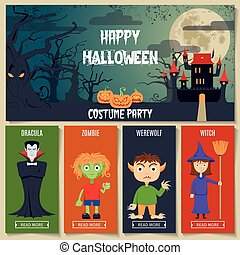Halloween Concept Set