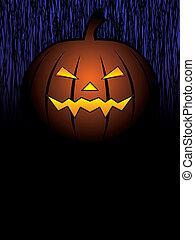 halloween, conception, citrouille
