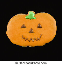 Halloween cookie.