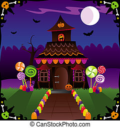 Halloween Cottage - Halloween treats and spooky critters...