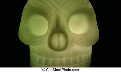 halloween, crâne