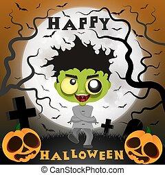 halloween crazy guy