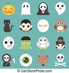 halloween cute cartoon character