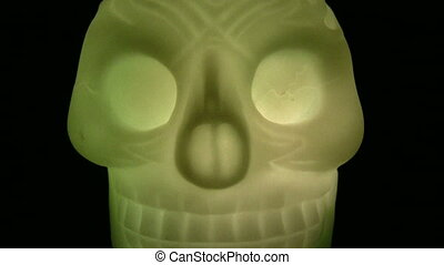 halloween, czaszka