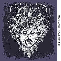 halloween, démon