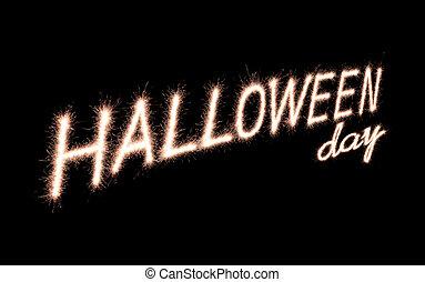halloween, día