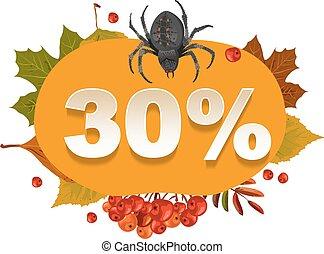 Halloween discount coupon