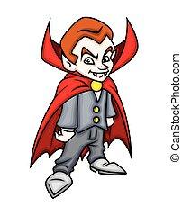Halloween Dracula Character