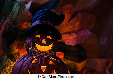halloween, dynia