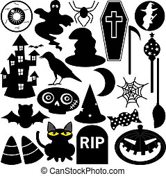 Halloween Festival Theme silhouette - Halloween Festival...